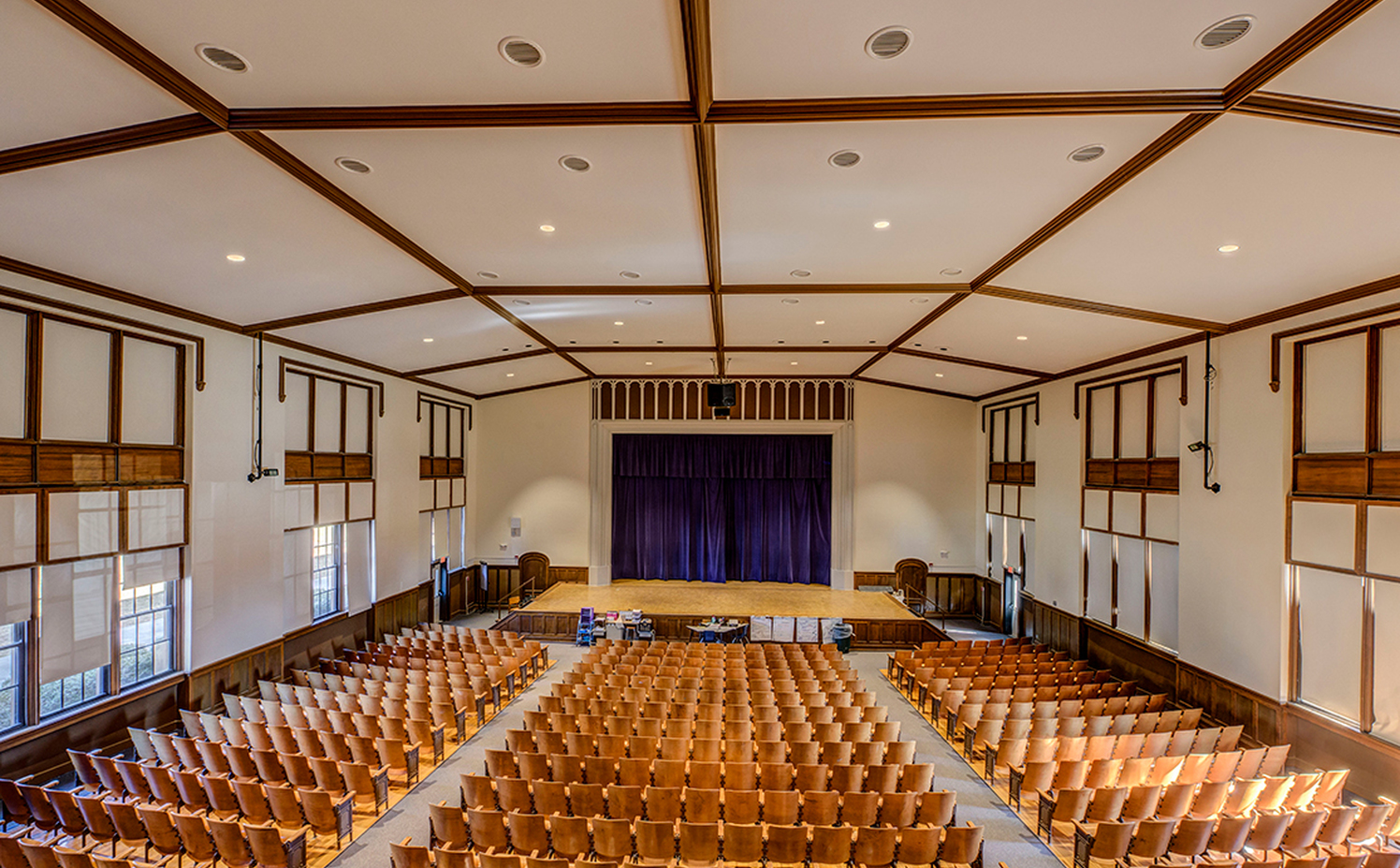 High Point Central Auditorium Renovations