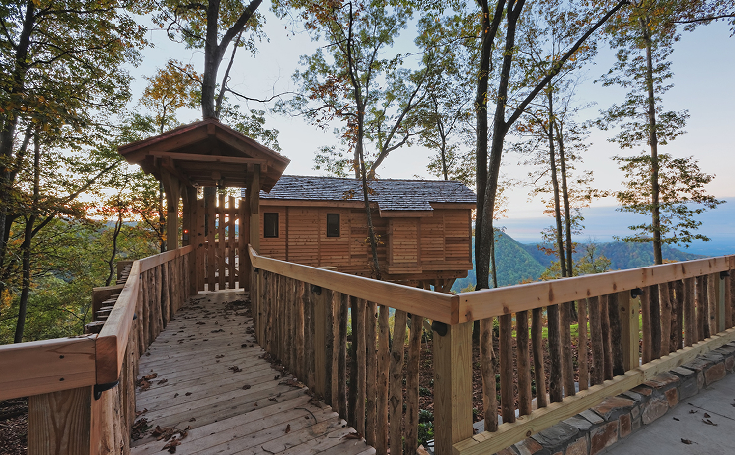 Treehouses - Primland Resort