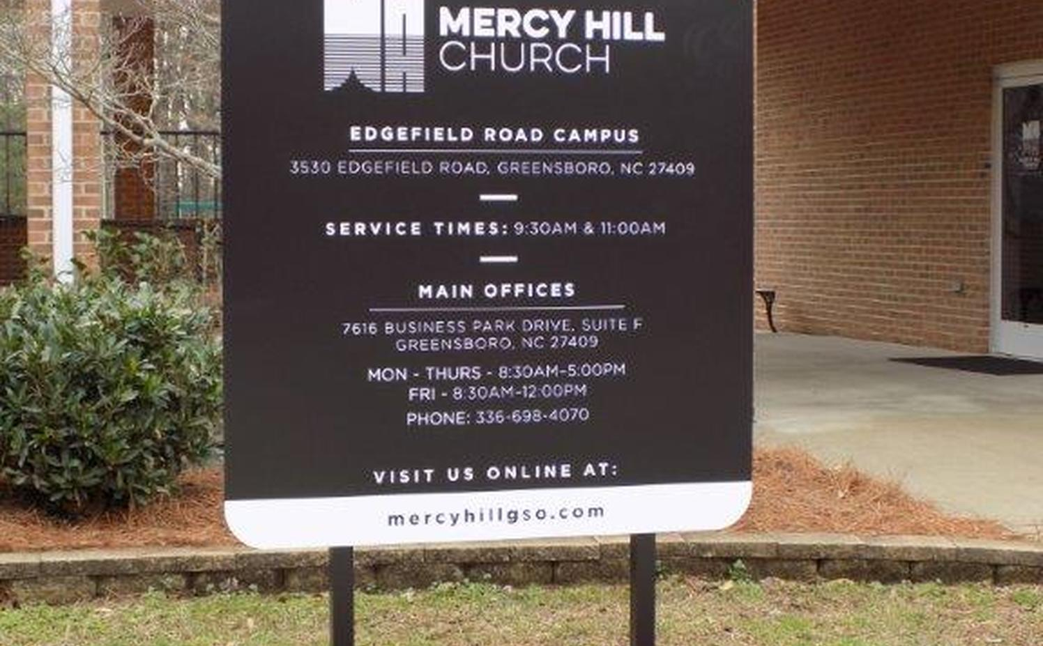 Mercy Hill - Edgefield Road Campus